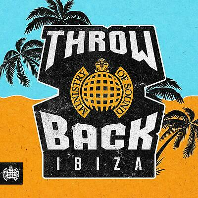 Throwback Ibiza - Ministry of Sound New 3 CD Box Set / Free Delivery