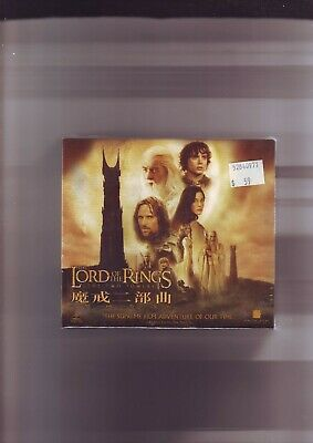 THE LORD OF THE RINGS : THE TWO TOWERS - FILM MOVIE VIDEO CD CDi VCD - NEW - CS