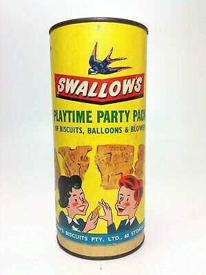 Vintage Swallow's Party Pack Balloon Pump Port Melbourne