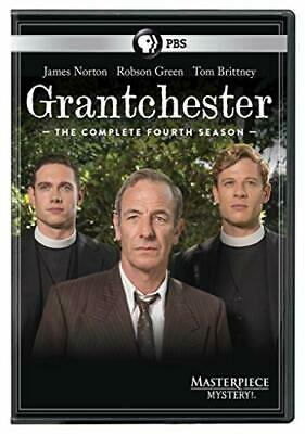 Masterpiece Mystery!: Grantchester Season 4 James Norton Robson Green PG-13 DVD