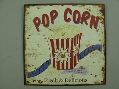 Metal Sign,Advertisement Sign, Pob Corn, Pubs Wall Sign 11 13/16x11 13/16in