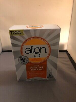 Align 24/7 Digestive Care Probiotic Supplement 73 Sealed Capsules Exp:04/2020