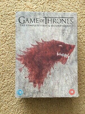 Game of Thrones - Complete First and Second Series DVD Box Set