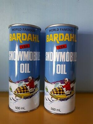 Vintage Oil Can Bardahl Snowmobile Oil