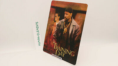 TRAINING DAY denzel w - Lenticular 3D Flip Magnet Cover FOR bluray steelbook