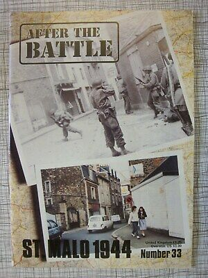 After The Battle # 33 (St Malo 1944, Commandos, Channel Islands WW2, Gibraltar)