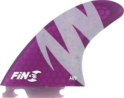 FIN-S HI-1 HONEYCOMB PURPLE 3 fins