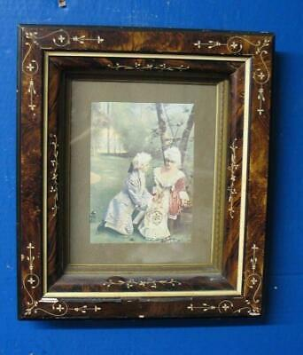 Antique Victorian Eastlake Ornate  Shadowbox Frame