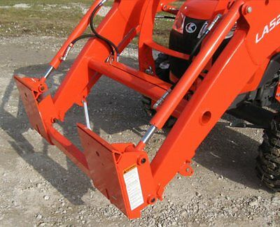 KUBOTA FRONT END Loader with Pin On Bucket to Skid Steer