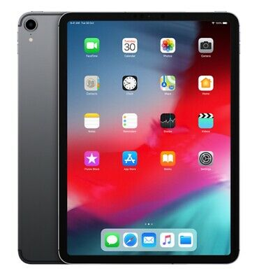 "Apple iPad Pro (2018) 11"" A12X 64GB Wifi - Space Grau"