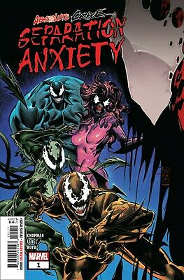 Absolute Carnage Separation Anxiety #1 AC Cover A Tan  8/14/19 NM