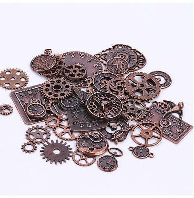 Steampunk Gear Charms, Clock Parts and Cogs, Timepieces