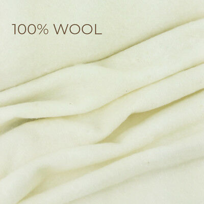 Simply 100% Wool Wadding / batting quilting quilt patchwork natural upholstery