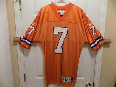 official photos 09080 83c39 JOHN ELWAY DENVER Broncos Jersey (Large Adult) Reebok Vintage Collection  (good)