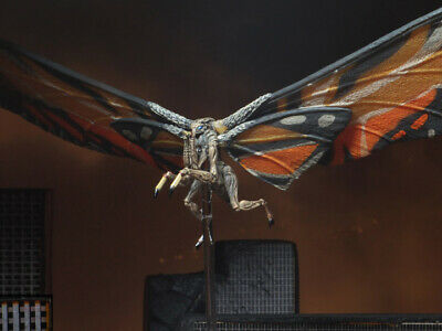 "MOTHRA Godzilla King of the Monsters 12"" Wing to Wing Action Figure Neca 2019"
