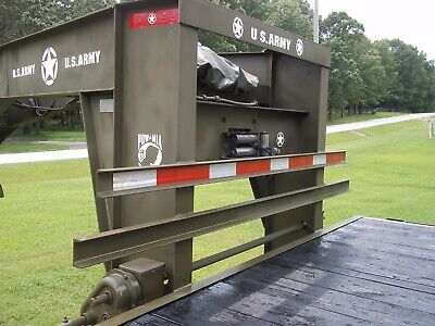 Military Theme Logo Set Gooseneck Flatbed  25 + Ft Army----- No Trailer Included