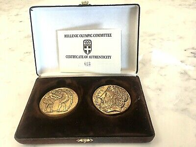 Hellenic Olympic Committee Commemorative Bronze Medals - Sydney 2000