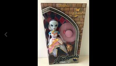 Disney World Attractionistas Doll Carrie Carousel Fantasyland Mint Never Opened