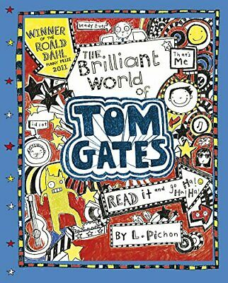 The Brilliant World of Tom Gates by Liz Pichon Book The Cheap Fast Free Post