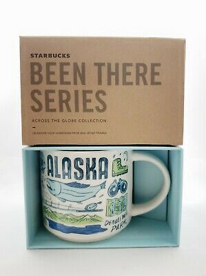 *New* In Box Starbucks Alaska Been There Series Coffee Mug Collection 14oz 2019