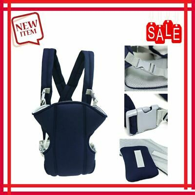 Baby Carrier Toddler Infant Newborn Holder Front Facing Chest Carrier Soft Navy