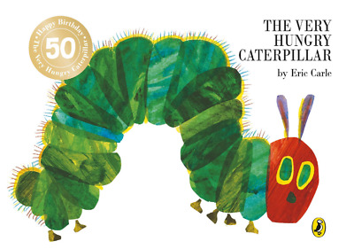 The Very Hungry Caterpillar Boardbook by Eric Carle Childrens Fiction Book New