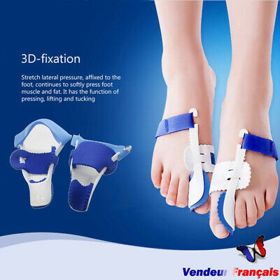 2 Bunion Big Toe Night Splint Hallux Valgus Foot Corrector Straightener Pain  ÁÍ