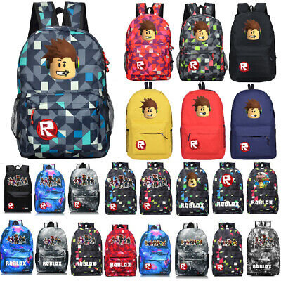 Roblox Backpack Kids School Bag Students Boys Bookbag Handbags Travelbag Game AU