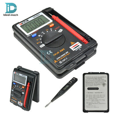 Digital Multimeter Frequency Mini VICTOR VC921 DMM Integrated Handheld Tester