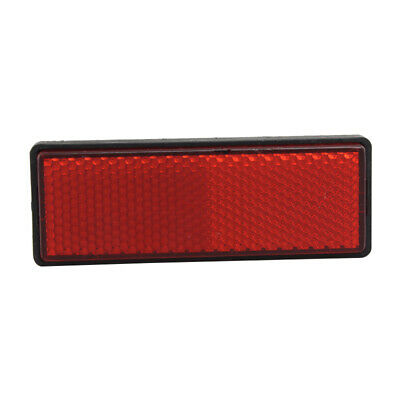 STICK ON Cycle PushBike Scooter Reflector Red Round 30mm x 30mm Bike Front Rear