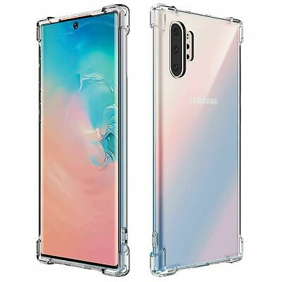 CLEAR Slim Case For Samsung Galaxy Note 10 Plus 5G Silicone Gel Shockproof Tough