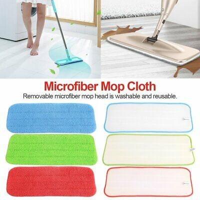 Spray Mop Refill Replacement Reusable Microfibre Floor Cleaning Pad Cloth DS