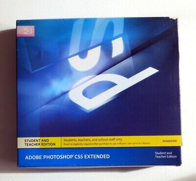 Adobe Photoshop CS5  Extended - Student and Teacher  Edition
