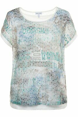 Gina Laura Top Turquoise