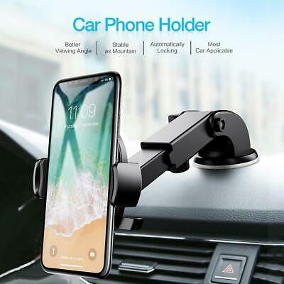RAXFLY Car Phone Holder Suction Cup Vehicle Dashboard Windshield Stand Mount
