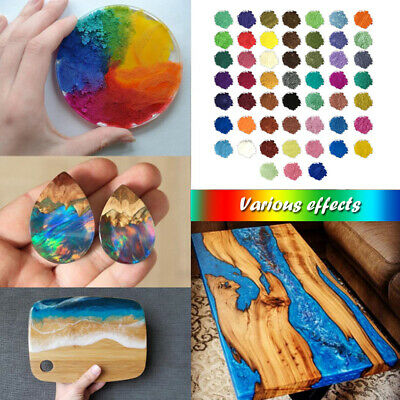24 Color Set Mica Pigment Powder Perfect for Soap Cosmetics Resin Colorant Dye