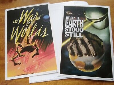 Loot Crate - Invasion of The Mini Prints war of the world's earth stood still