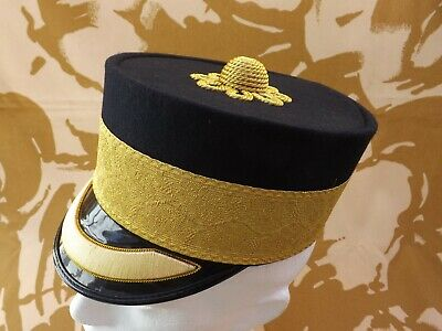 Reproduction British Army Officers 1855 pattern Forage cap Flat peak Size 58 cm