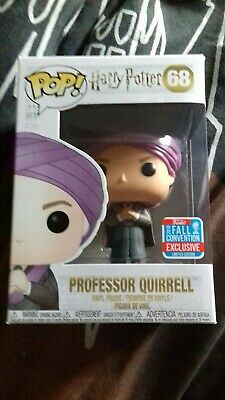 Harry Potter - Professor Quirrell with Voldemort - NYCC - Funko Pop Vinyl NEW
