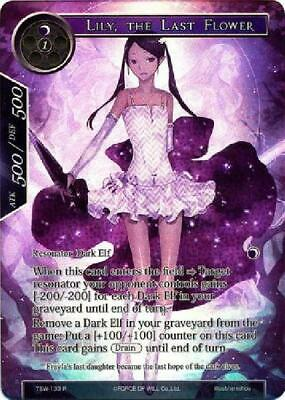 Lily, the Last Flower - TSW-133 - Rare Full Art Near Mint Force of Will: 2B3