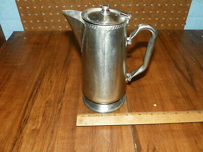 Vintage LEGION UTENSILS Stainless Steel Pitcher From THE DRAKE  HOTEL