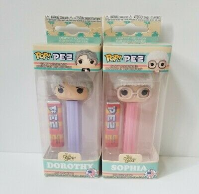 Funko Pop! Pez Golden Girls Sophia and Dorothy Limited Edition