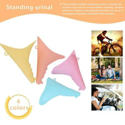 Female Urination Device Reusable Silicone Urination Device Pee Funnel for Travel