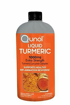 Qunol Liquid Turmeric Curcumin with Bioperine 1000 Milligram 40 Servings..
