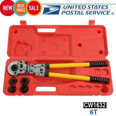 Hydraulic Pipe Tube Crimping Tool 6T Pipe Pressing Pliers CW1632 Clamping Tool