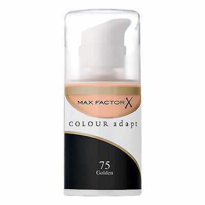 Max Factor Colour Adapt Golden 75 Foundation Skin Adapting Make Up Oil Free