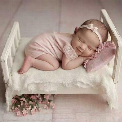Newborn Baby Photography Modeling Bed Background Frame Stand Posing Props