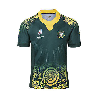 2019 Australia Rugby World Cup Rugby Jersey Short Sleeve Adult Size S-3XL