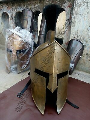 Spartan King Leonidas 300 Movie Helmet Replica Gift For Larp/Role Play/ Cosplay