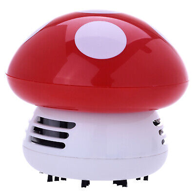 Mini Aspirateur de Table Champignon - Rouge